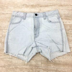 New J Brand Distress Hem Shorts Size: 25